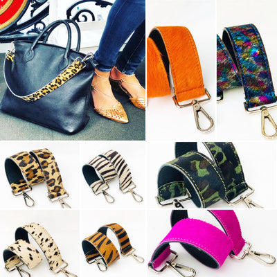 Leopard Print Hobo Shoulder Strap Pony Skin Replacement RS400