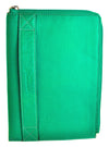 Pratico - zipped  leather iPad mini case #GC02 Green