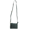Croc Vipera Leather Clutch #LB575 Green