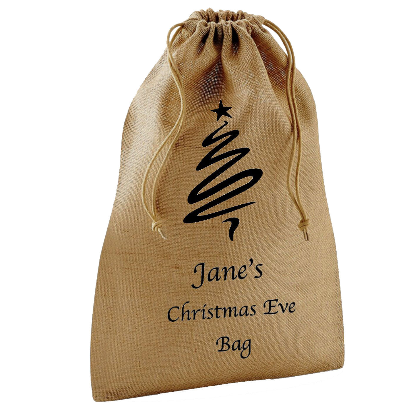 Personalised Jute Stuff Bag