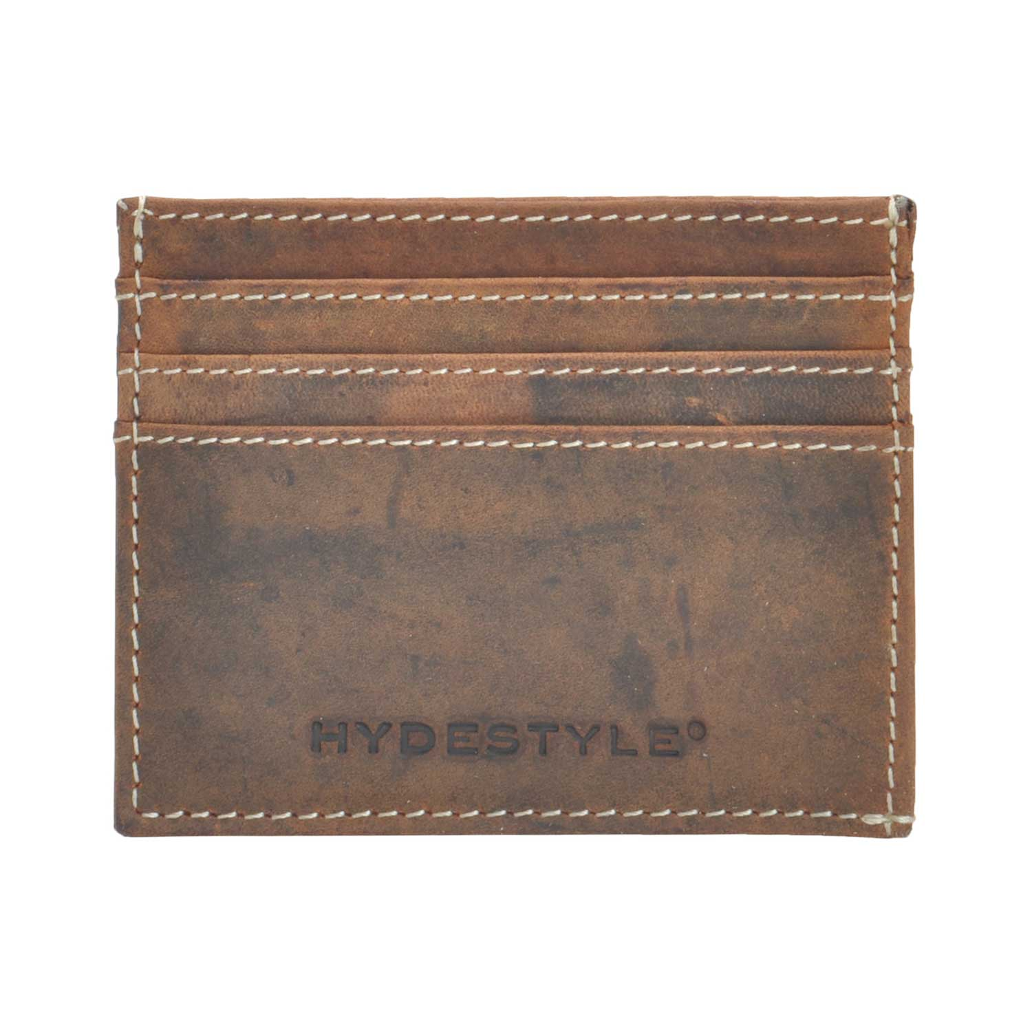 Distressed Leather  Card Case /Shirt Wallet #GW707