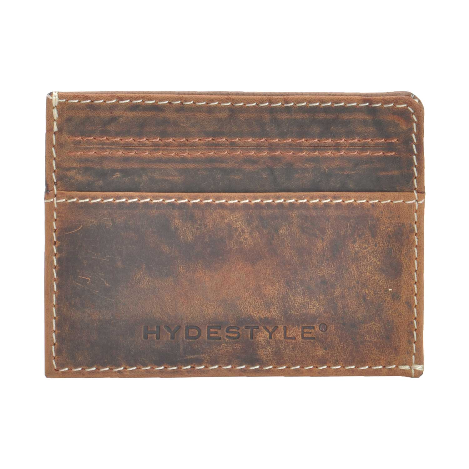 Distressed Leather  Shirt Wallet / Card Case #GW708