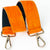 Neon Orange Hobo Shoulder Strap Pony Skin Replacement RS400