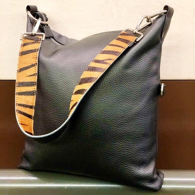 Tiger Print Hobo Shoulder Strap Pony Skin Replacement RS400