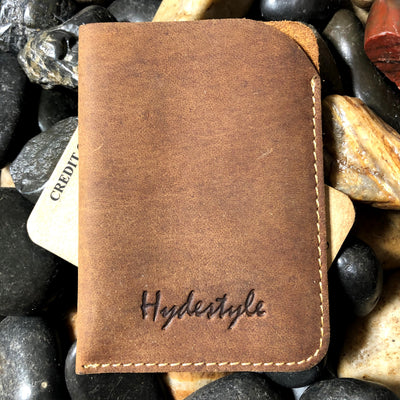 Personalized Minimalist Leather Wallet | Leather Card Case | Credit Card Sleeve | Small Card Holder Wallet | Fathers Day Gift | Mens Gift