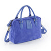 Rimor  Silky suede ladies handbag #LB10 Blue