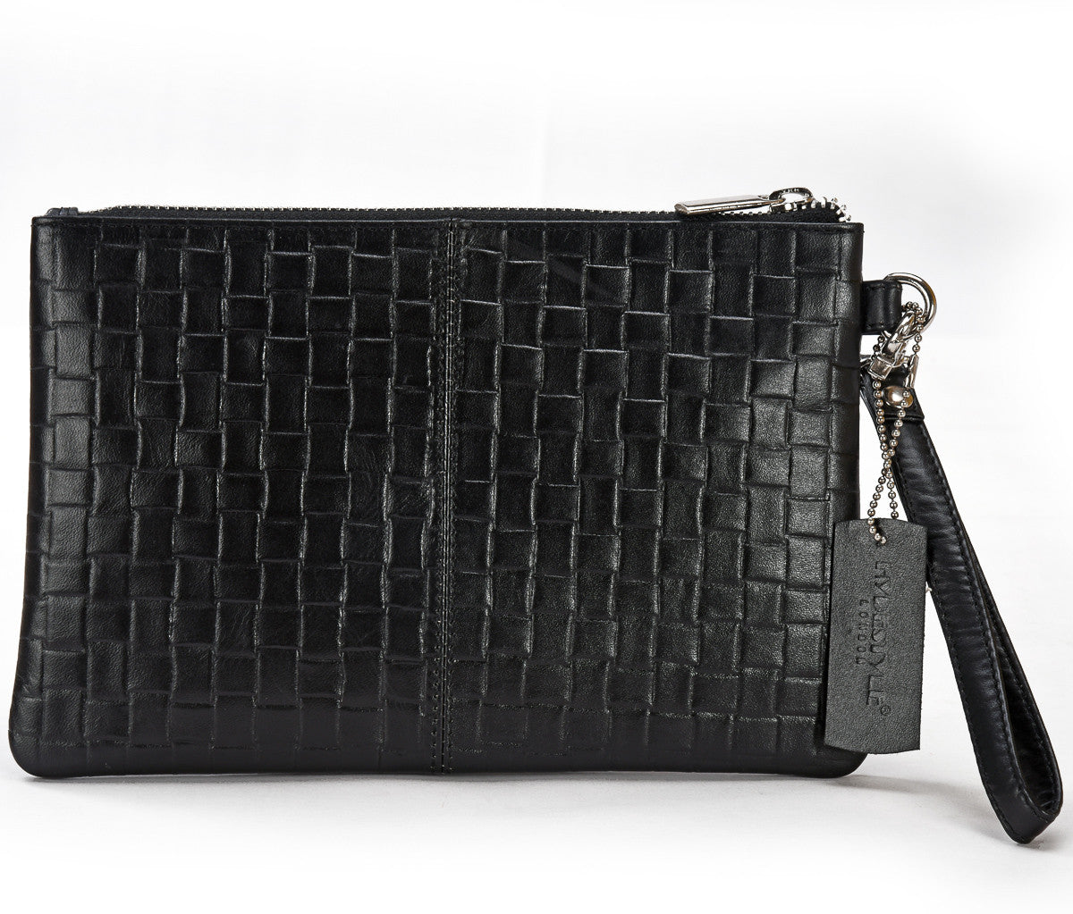 Secure Rfid Leather Ladies Wristlet Clutch With...