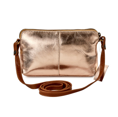 HYDESTYLE Metallic Magpie NEL Clutch Bag #LB87 Rose Gold
