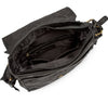 Pello Black washed leather man-bag #UM102 - Medium