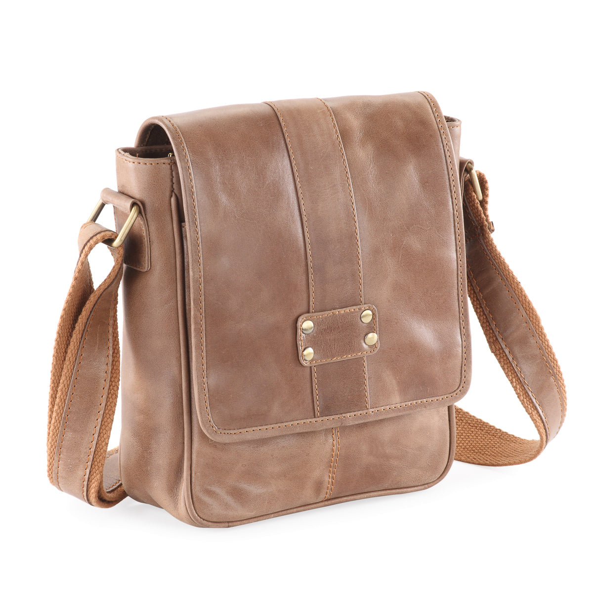 Frango distressed hunter messenger / cross body shoulder bag #UM48