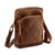 HYDESTYLE Distressed Leather A5 Pocket Bag #UM61