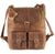Frango distressed leather backpack #UM50