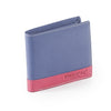 Pratico - mens colour block leather wallet #GW23
