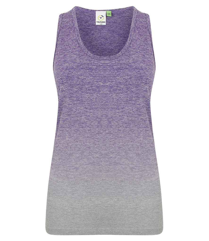 Lavender Summer Top Seamless Running Ladies Vest LTS-302
