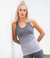 Grey Summer Top Seamless Running Ladies Vest LTS-302