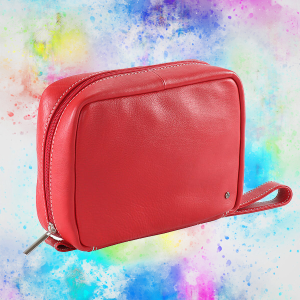 Practico Toiletery Bag - Red