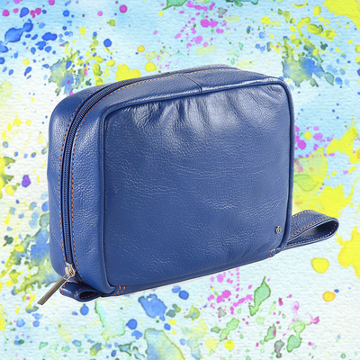 Pratico Toiletry Bag - Blue