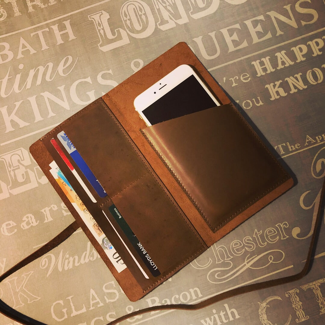 Morus Leather Phone Wallet GS9003
