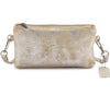 Metallic Rimor Apple Clutch Bag #LB76 Beige