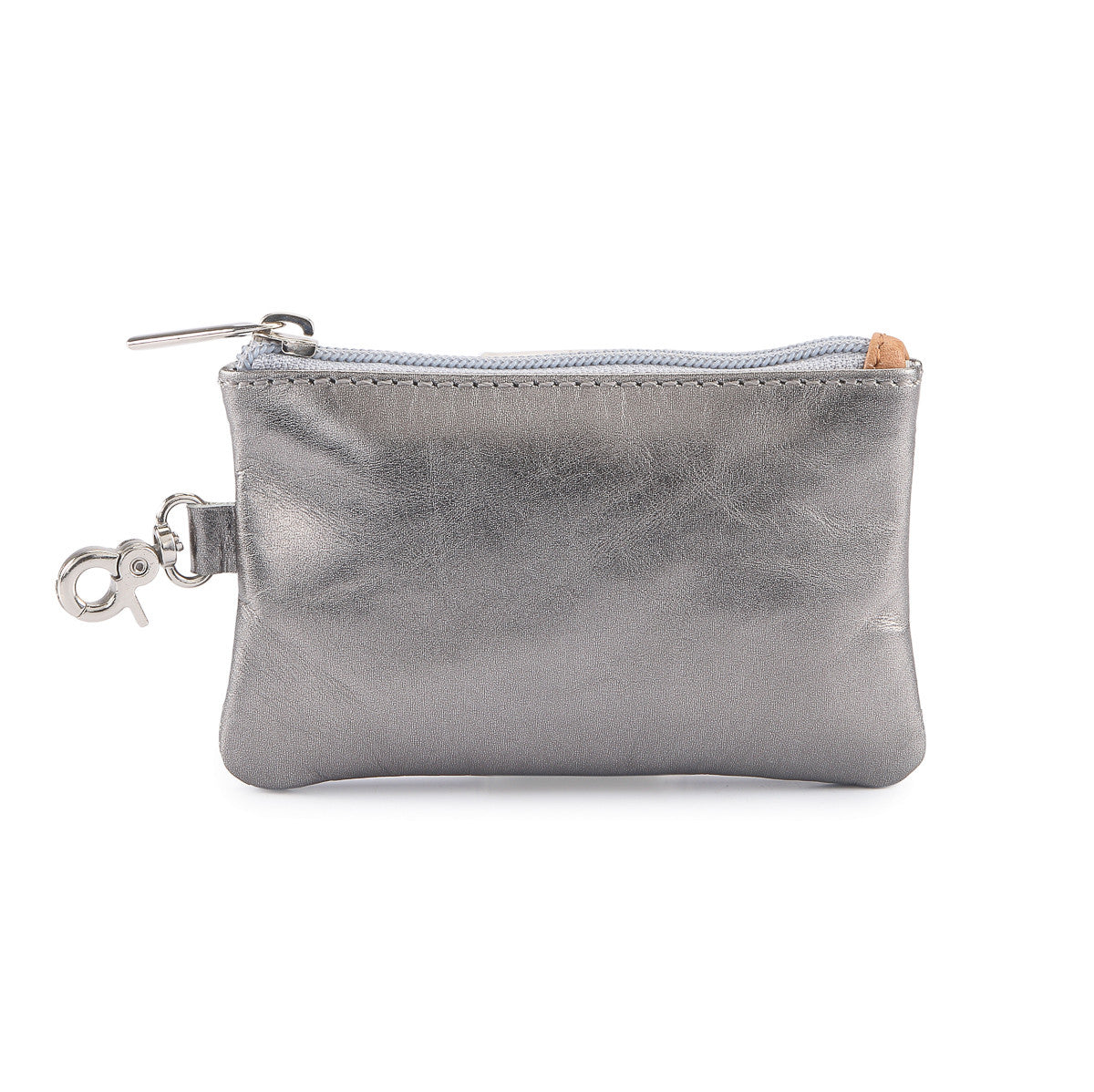 Hydestyle Metallic Rimor Coin Pouch #LW20 Pewter