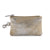 Hydestyle Metallic Rimor Coin Pouch #LW20 Beige