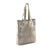 Hydestyle Metallic Sofia reversible leather tote bag #LB32 Beige