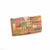 Picta Manu hand painted leather ladies wallet / purse #LW10 Abstract Square