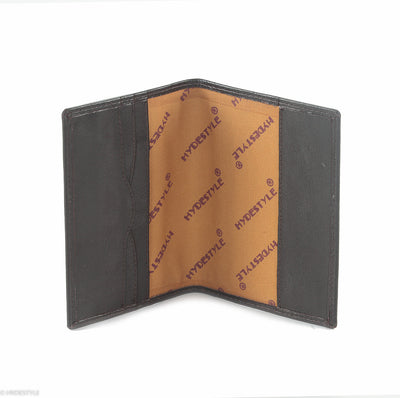 Trenz leather passport cover  #TW04 Black