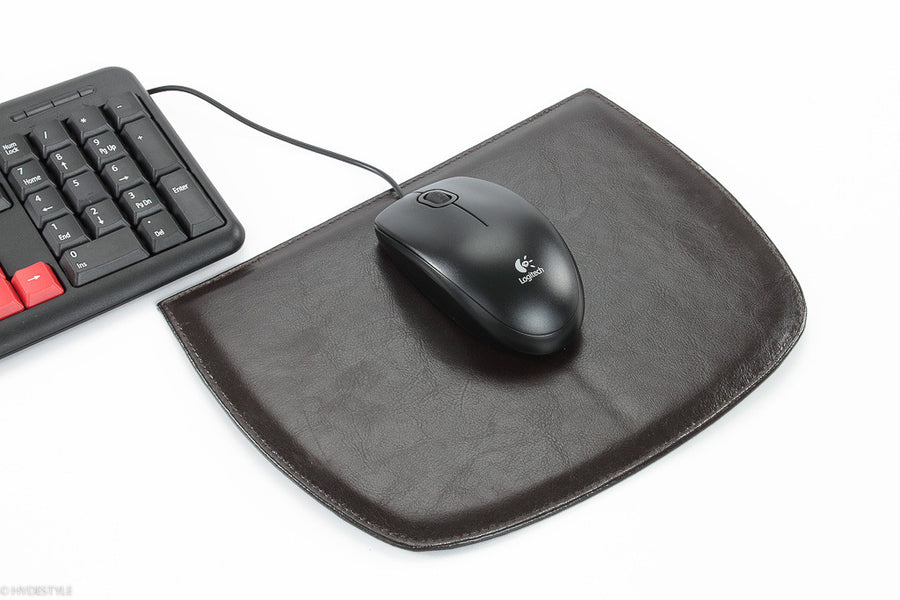 Trenz leather mouse pad #GC08 Black