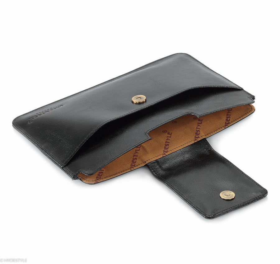 Trenz leather iPad Mini clutch #GC09 Black