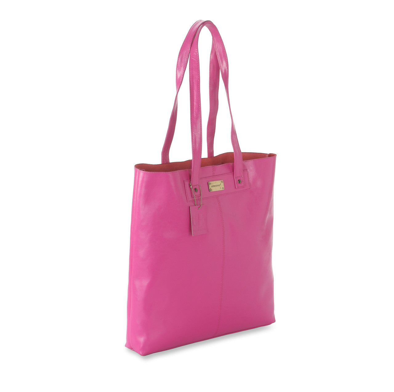 Trenz leather aura tote bag #LB17 Pink