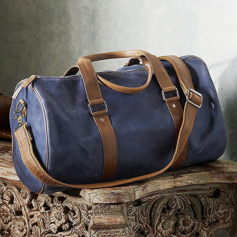 Leather Holdalls & Luggage