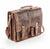 Venator distressed leather laptop  briefcase messenger  Bag UM20 Brown