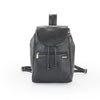 Pratico - piccolo leather backpack #UM35 Black