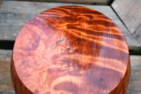 Authentic Redwood Lace Burl Bowl