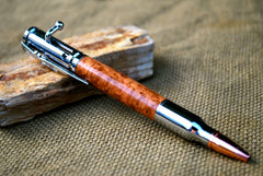 Bolt Action In Cherry Burl