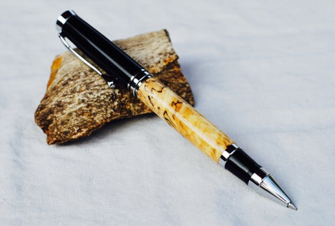 Oxford Rollerball Pen in Spalted Maple
