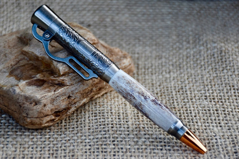 Lever Action Pen in White-Tailed Deer Antler