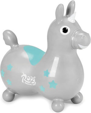 Load image into Gallery viewer, Silver Magical Unicorn Rody