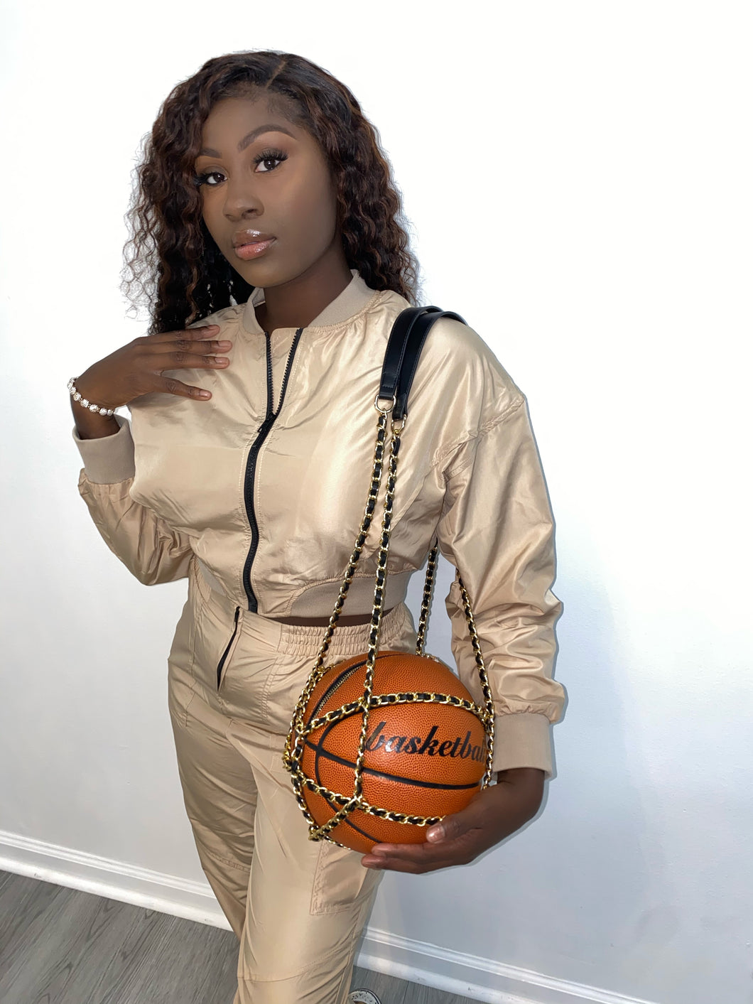 Basketball purse