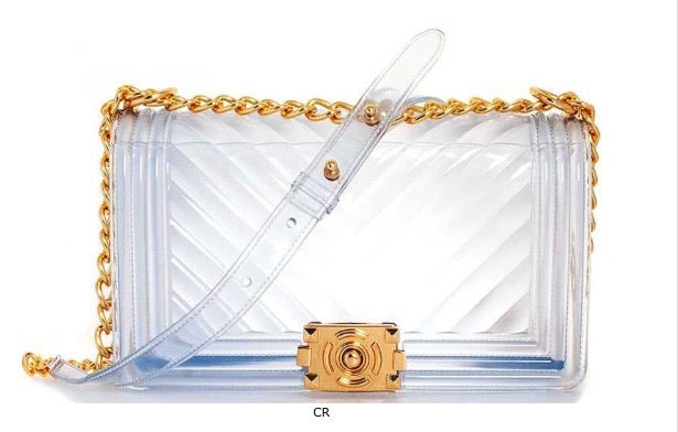 Clear Jelly Crossbody