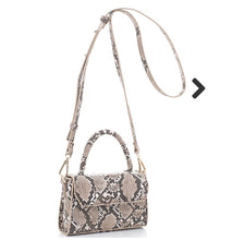 Load image into Gallery viewer, Snake skin mini crossbody