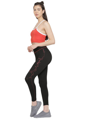 Leggings Paris Skyline Negro