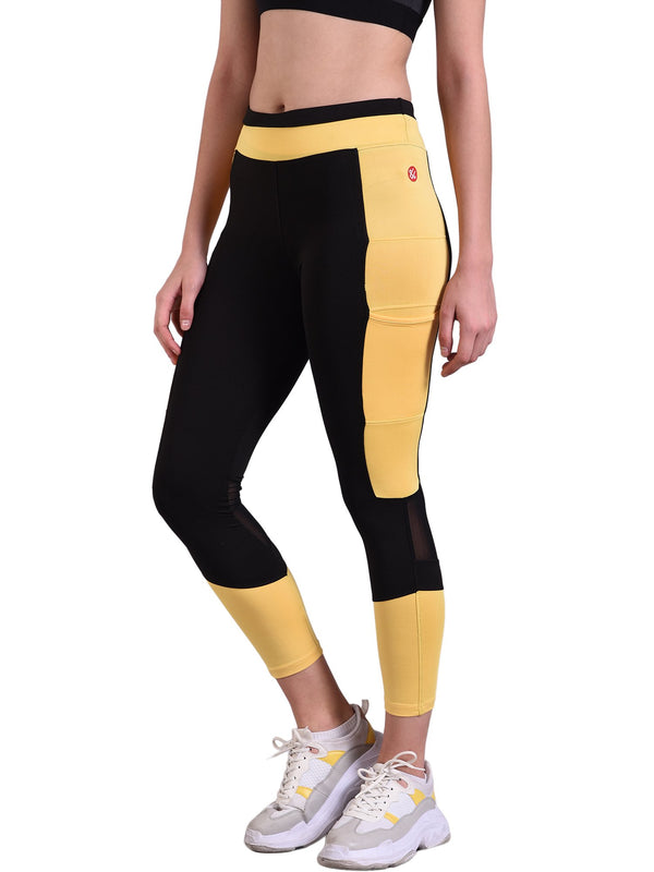 Leggings Red Cheri Natraj Amarillo