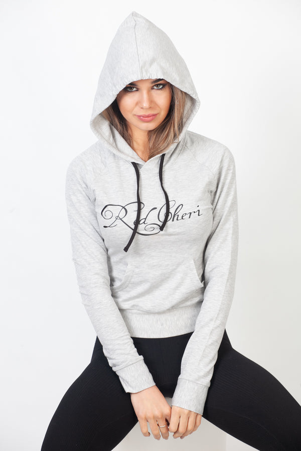 Red Cheri Everyday Sudaderas con capucha Gris claro