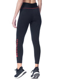 Leggings Logo RED CHERI Negro