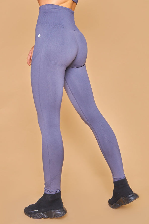 Sarvangasana Seamless Leggings Gris Oscuro
