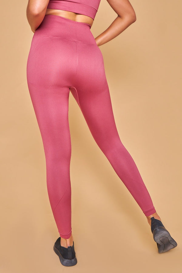 Sarvangasana Seamless Leggings Rosa