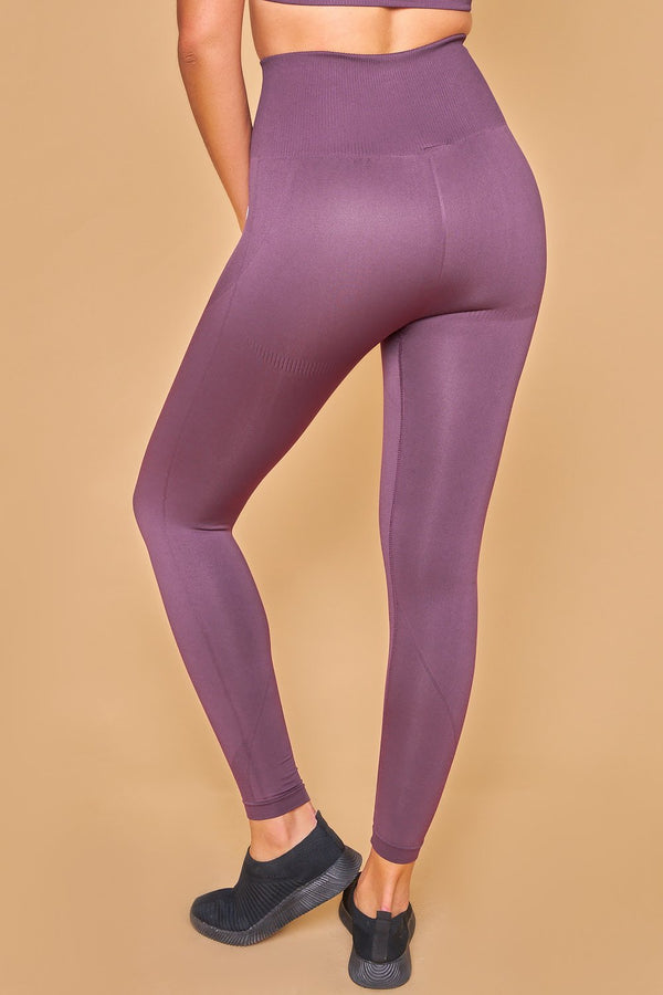 Sarvangasana Seamless Leggings Violeta