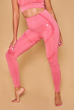 Halasana Seamless Leggings Rosa